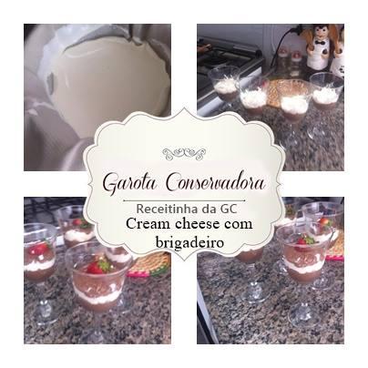 cream cheese com brigadeiro